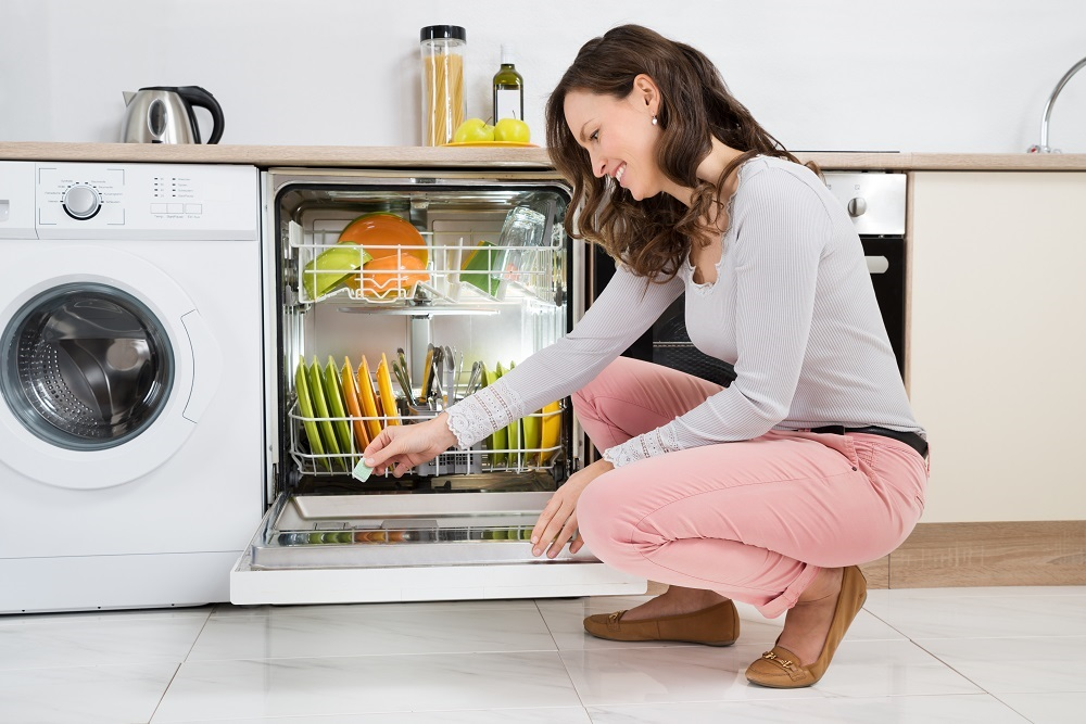 Energy-Efficient Dishwasher