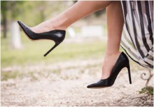skinny heel