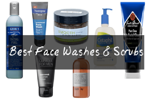 Use face wash to wash face